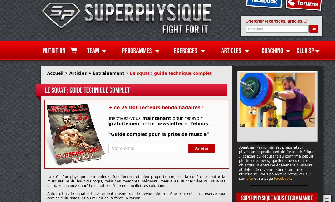 Mon Guide pour le Squat sur Superphysique !